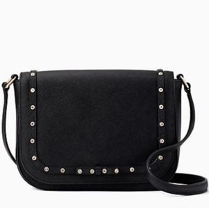 Kate Spade Laurel Way Black Jeweled crossbow